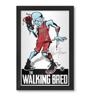 The Walking Dead Michael Jordan Bred