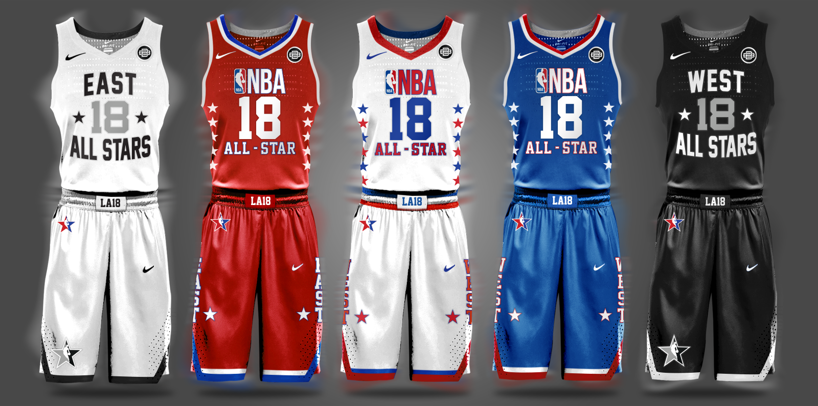 Nba Nike Uniform Concepts I Am Brian Begley