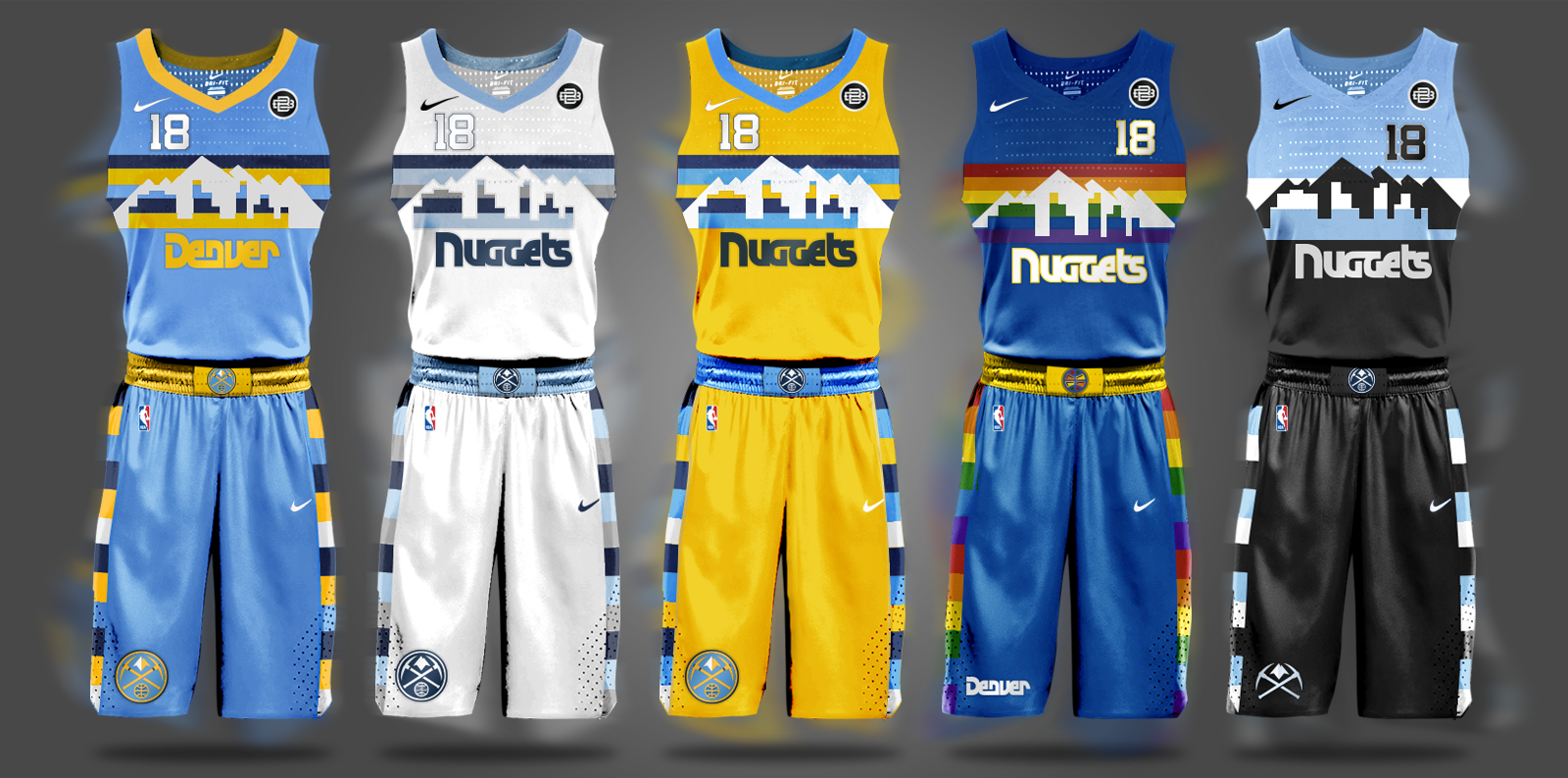 NBA Nike Uniform Concepts - I Am Brian Begley