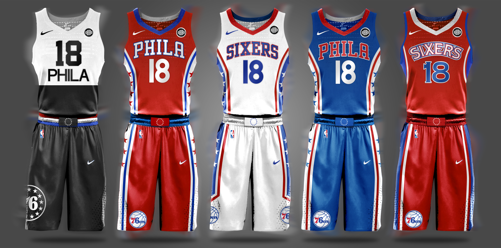 189b5c9b727 Philadelphia Sixers 76ers NBA Free Agency Ish Smith Allen Iverson Philly  Will Smith Big3 Big 3