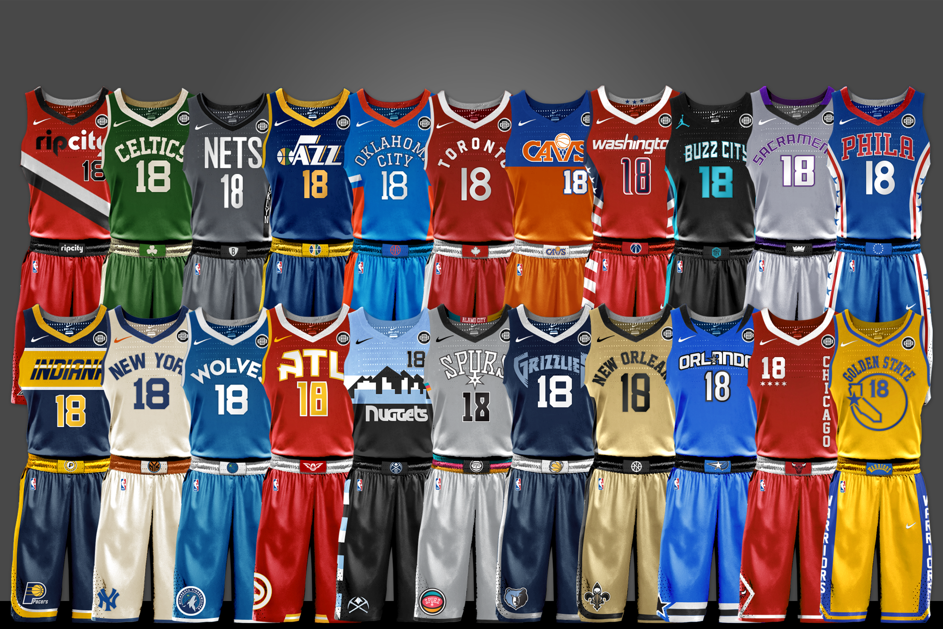 NBA Uniform Concepts