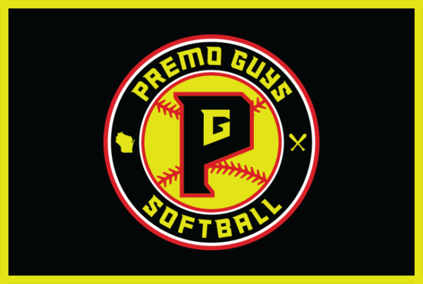 Premo Guys Softball Club Milwaukee Wisconsin Baseball Logo MiLB MLB