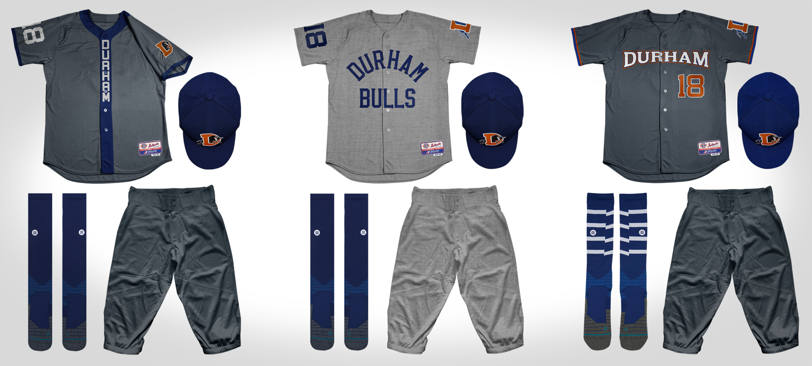 Durham Bulls Triple A Minor League Baseball MiLB Tampa Bay Rays