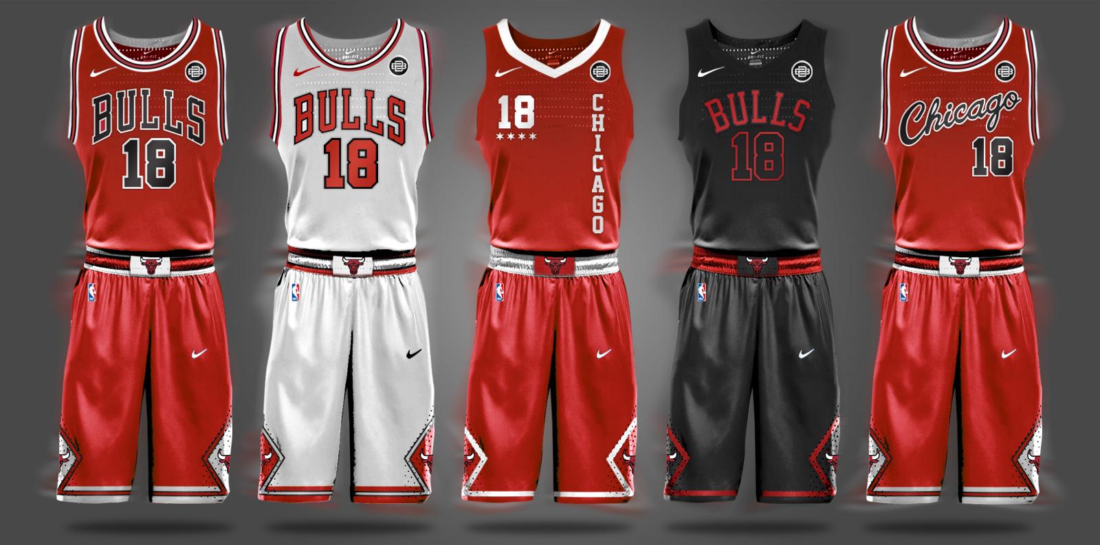 NBA Nike Uniform Concepts - I Am Brian