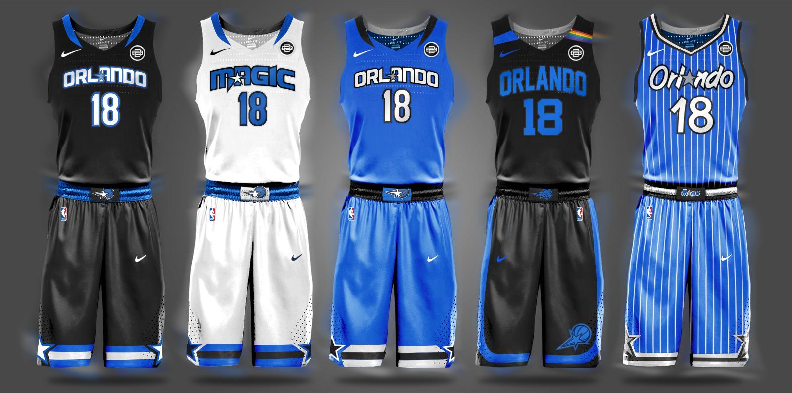 Nba Nike Uniform Concepts I Am Brian Begley